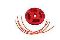 Диск для триммера - 70 мм дюраль Красный (1308)