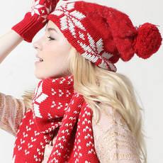 Комплекти шарф-шапка-рукавички