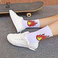 Длинные носки Пушка Огонь - Огонь, фото 1
