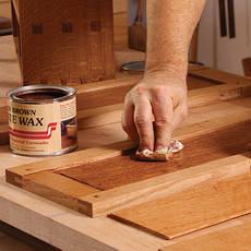 Воски для дерева и деревянных изделий