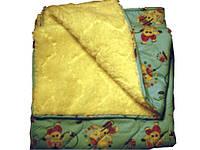 Одеяло плед на овчине стеганное 140х105см, 320.0