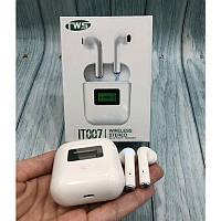 Бездротові навушники tws iT007 з дисплеєм