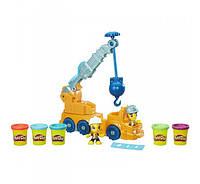 Play-Doh Town Power Crane Playset Строительный кран