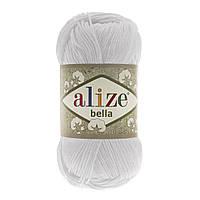 Alize BELLA белый № 55