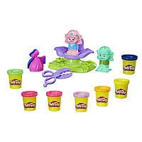 Набор Play - Doh Trolls Выдави стиль  Dreamworks Trolls Press 'n Style Salon