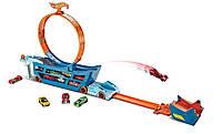 Трек-трансформер Трюки и Гонки от Hot Wheels Stunt n' Go Track Set DWN56