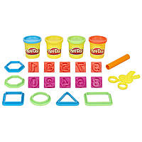 Play-Doh Learn About Shapes and Numbers Учимся считать Hasbro