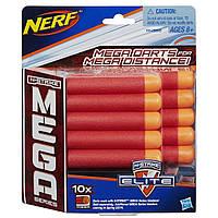 Комплект 10 патронов для бластеров Нерф Мега Hasbro A4368