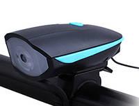 Фара + сигнал SPEAKER FY-058с зарядкой под USB, G22