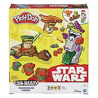 Play Doh Игровой набор Звездные Войны Миссия на Эндоре от Hasbro
