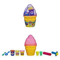 Play-Doh Игровой набор Контейнер с мороженым Sweet Shoppe Ice Cream Cone