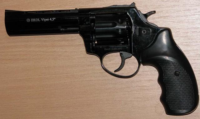 Револьвер под патрон Флобера Ekol Viper 4,5