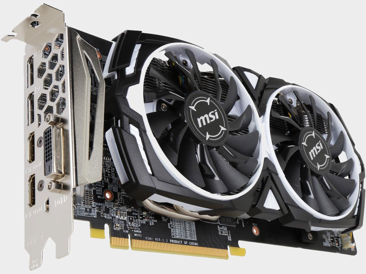 "Видеокарта MSI Radeon RX 580 ARMOR 8G OC GDDR5 256bit ""Over-Stock"" Б/У"