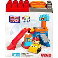 Конструктор Mega Bloks Гараж серии First Builders Spinning Garage