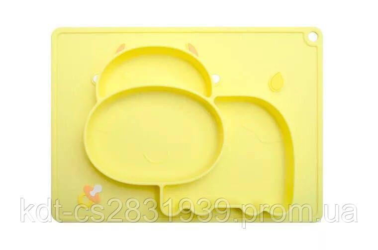 Детская посуда силиконовая