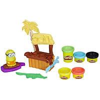 Набор пластилина Play-Doh Рай для миньонов Minions Paradise Playset B9028