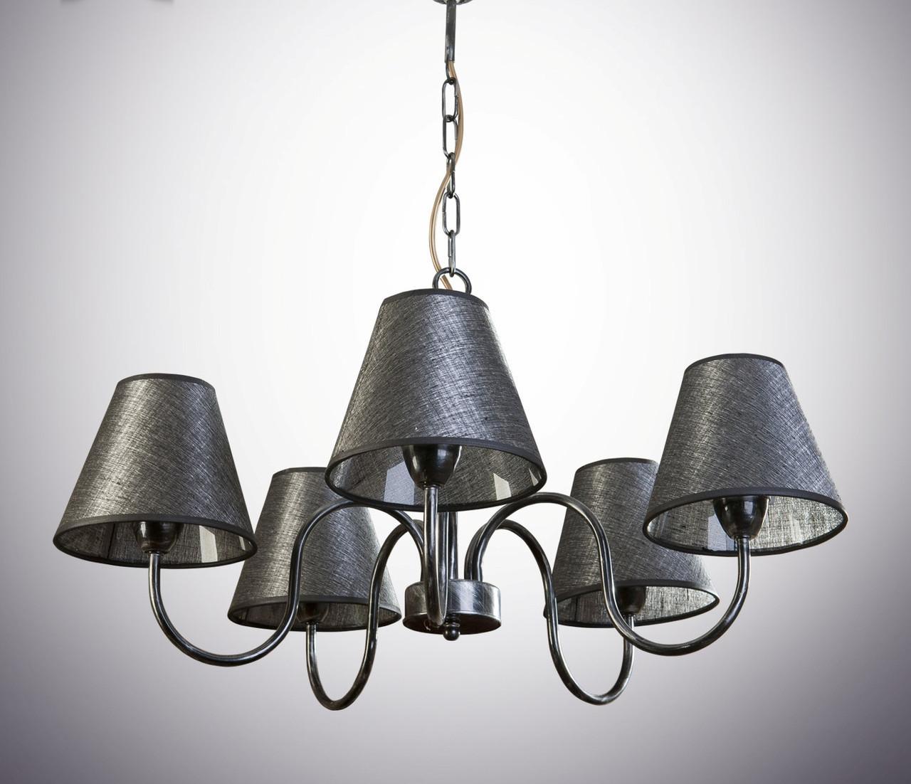 Люстра для зала, 5-ти ламповая  10505-2