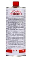 LITOGRES PROTECTOR Защитная пропитка для полированного керамогранита и керамики LTGPRT0121 1 л