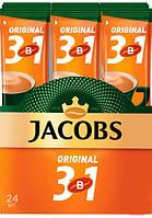 Кофе растворимый Jacobs 3in1 Original 12g 24 шт x10 бл