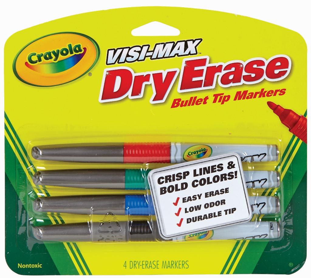 Маркеры для школьной доски Crayola Крайола США - фото 1