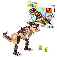 """Конструктор Mega Bloks Minions Dino Ride Building Kit Мега Блокс """"Поездка на динозавре"""" серии Миньоны"""