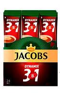 Кофе растворимый Jacobs 3in1 Dinamix 12g 24 шт x10 бл