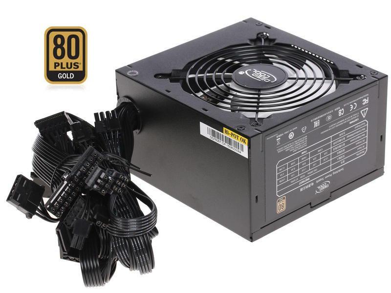 "Блок питания DeepCool Quanta 750W 80Plus GOLD  (DQ750ST) ""Over-Stock"" Б/У"