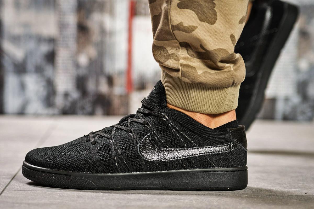Кроссовки мужские Nike TENNIS CLASSIC, черные (2470-2) размеры в наличии ► [  41 44  ] (реплика)