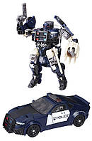 Робот Трансформеры Последний рыцарь Делюкс Баррикада Transformers The Last Knight Premier Edition Deluxe Barricade