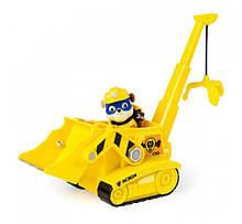 Paw Patrol кран-бульдозер Крепыш Super Pup Rubble´s Crane