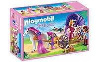 Playmobil 6856 Королевская чета с каретой и лошадью Grand Princess Castle