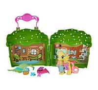 My Little Pony Friendship is Magic Fluttershy Cottage. Коттедж Флаттершай.