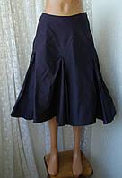 Юбка женская шелк плащевка миди бренд Manson р.44