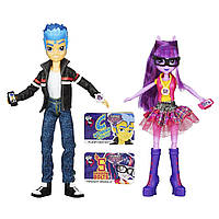 Набор кукол Equestria Girls Игры дружбы B1780 Friendship Games - Twilight Sparkle & Flash Sentry
