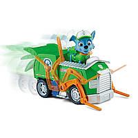 Щенячий патруль Рокки и мусоровоз набор  Paw Patrol Rocky Transforming Recycle Truck