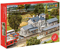 FALLER 190060  сет Сборная модель вокзала 4 в 1м / 1:87, фото 1