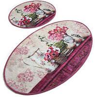 Набор ковриков для ванной 60х100+50х60 Chilai Home Vintage Djt