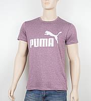 """Мужская футболка """"Вискоза"""" Puma 1901 бордо, фото 1"""
