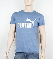 """Мужская футболка """"Вискоза"""" Puma 1901 джинс"""