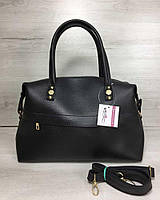 Женская сумка WeLassie Ирен черного цвета, фото 1