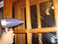 Теплосберегающая плёнка на окна прозрачная, ширина 2 м