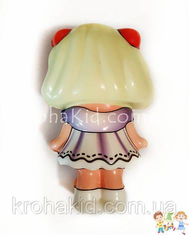 Сквиш куколка Лол - 13 см / LOl Doll squishy / Сквуши / Игрушка-антистересс, фото 2