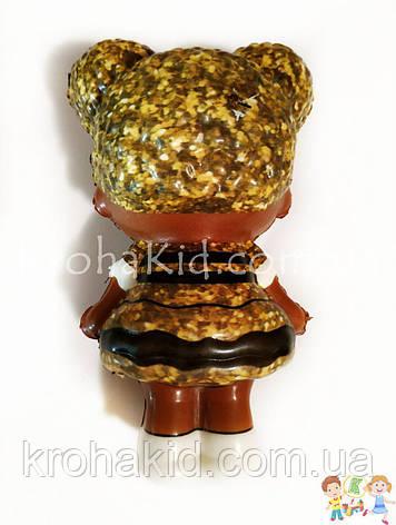 Сквиш куколка Лол глиттер - 13 см / LOl Doll squishy / Сквуши / Игрушка-антистересс, фото 2