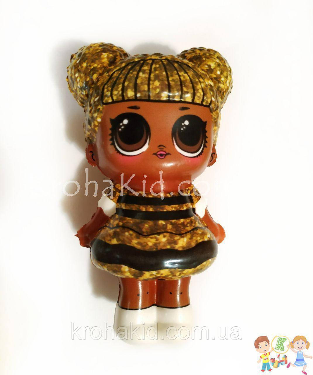 Сквиш куколка Лол глиттер - 13 см / LOl Doll squishy / Сквуши / Игрушка-антистересс