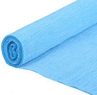 Гофрированная бумага голубая Италия
