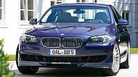 Накладка на передний бампер BMW F10 \ F11 2010+ г.в. стиль Alpina, фото 1