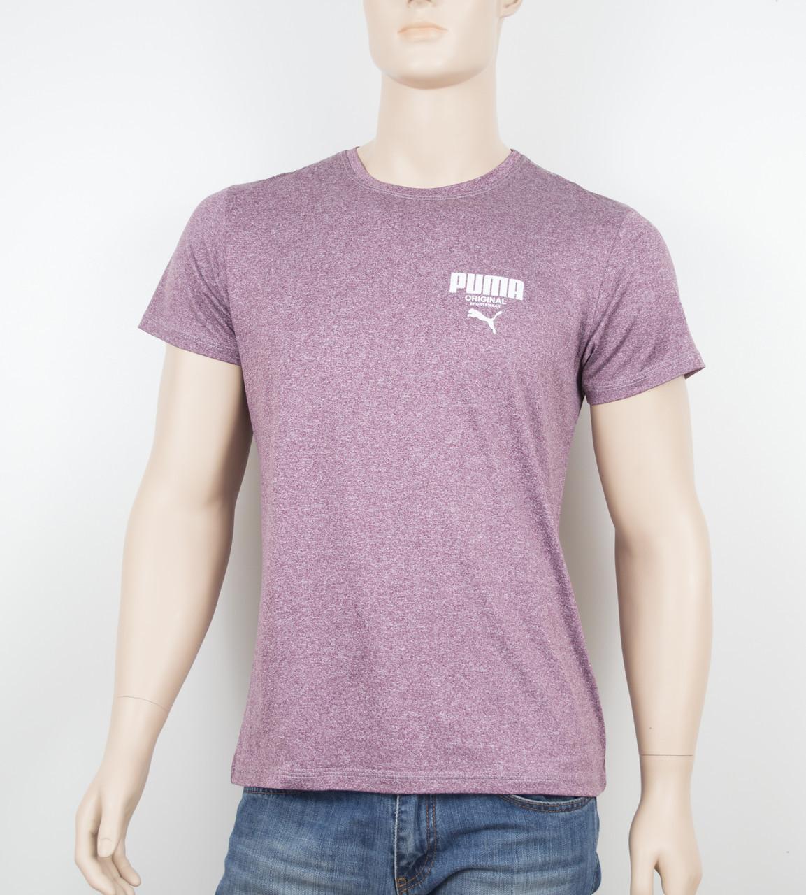 "Мужская футболка ""Вискоза"" Puma 1902 бордо"
