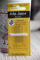 Голки для вишивки John James №24,26