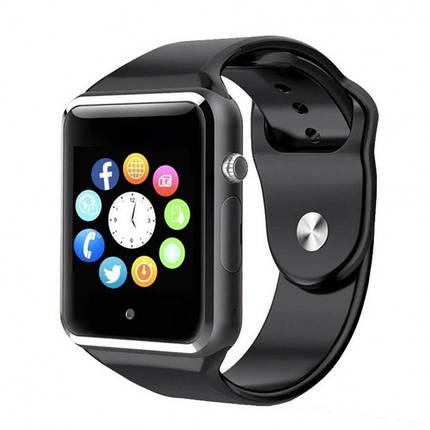 Умные смарт-часы Smart Watch UWatch A1 Black, фото 2