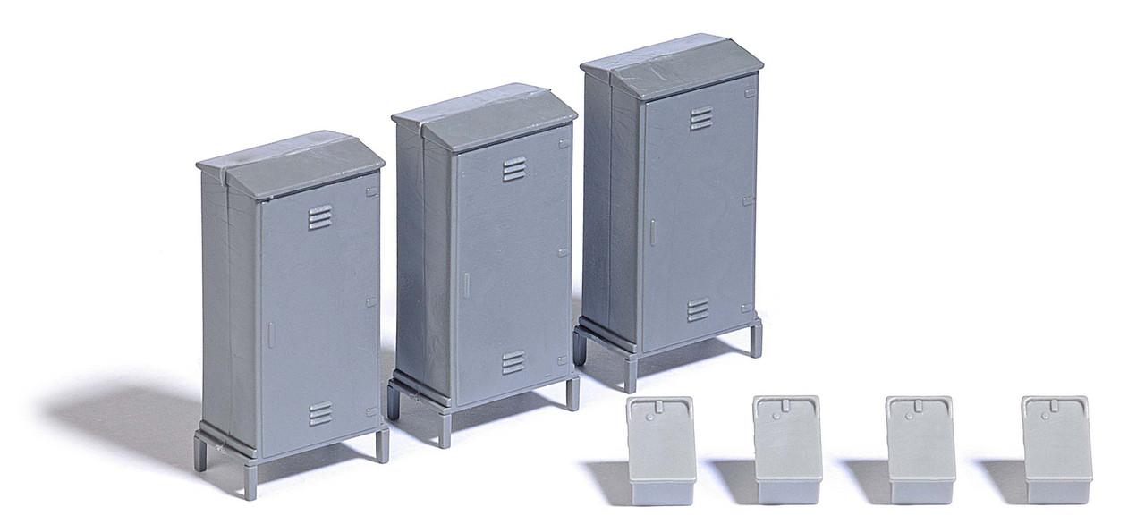 Busch 7792 Коммутационные и телефонные шкаф / 1:87